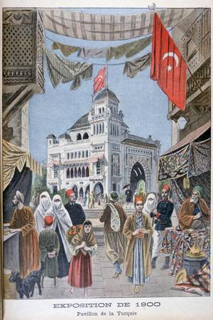The Turkish Pavilion at the Universal Exhibition of 1900, Paris, 1900