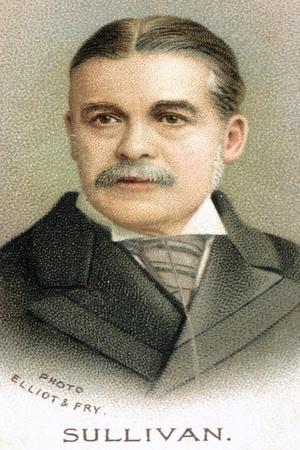Sir Arthur Seymour Sullivan (1842-190), English Composer, 1912