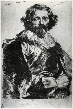 Portrait of Lucas Vorsterman, 1627-1632