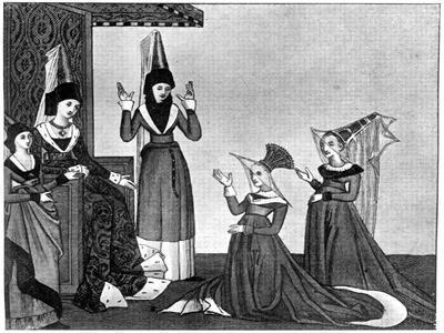 Ladies' Headdresses, 15th Century
