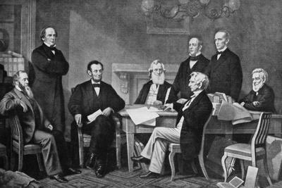 The First Reading of the Proclamation of Emancipation, 1863