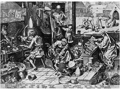 Elixir of Life: 'The Alchemist, 1558