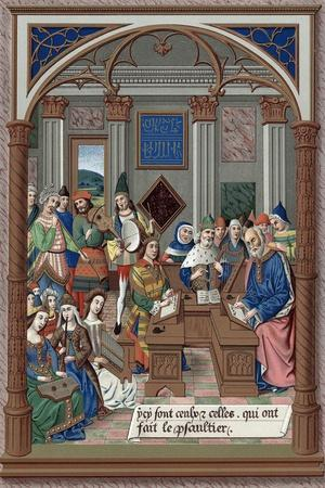 King Rene and His Musical Court, 15th Century
