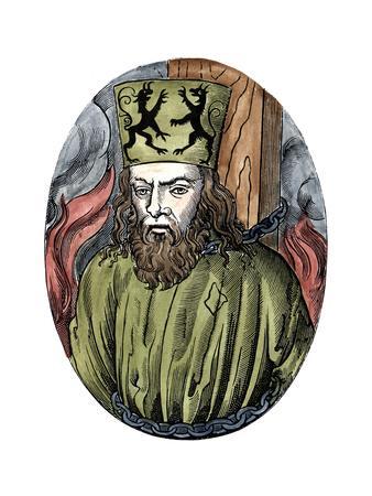 Jan Hus, Bohemian Religious Reformer and Theologian, 1493