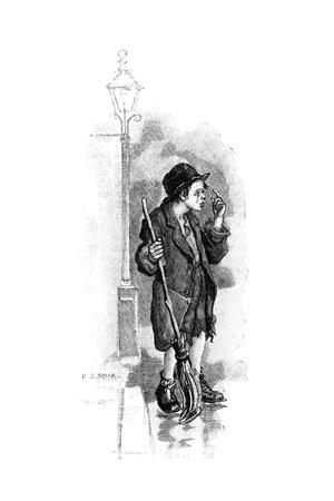 Boy Crossing Sweeper, 1893