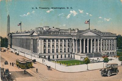 U.S Treasury, Washington, Dc, C1920S