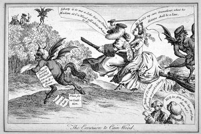 The Excursion to Cain Wood, 1771