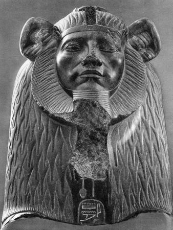 A Granite Sphinx of King Amenemhat III, C1820 BC