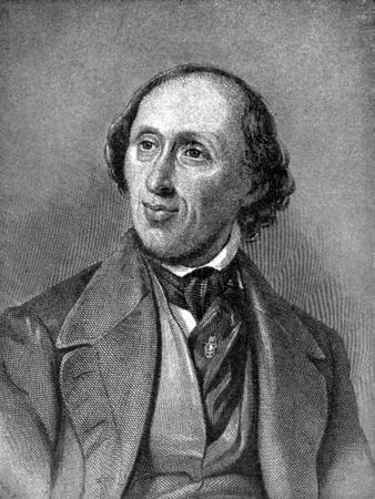 Hans Christian Andersen (1805-187), Danish Author