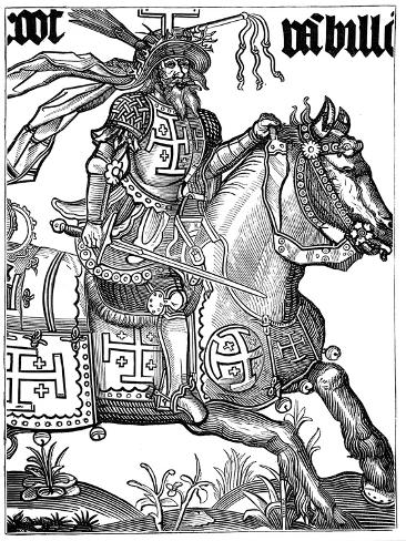 Godfrey Of Bouillon 11th Century French Crusader 15th Century