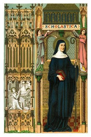 St Scholastica, 1886