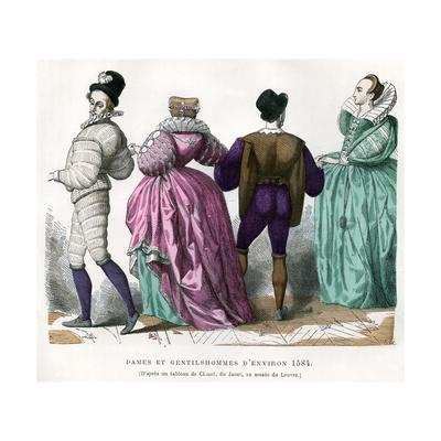 Ladies and Gentlemen from About 1584, (1882-188)