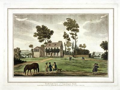 Copenhagen House,Copenhagen Fields, Islington, London, 1783