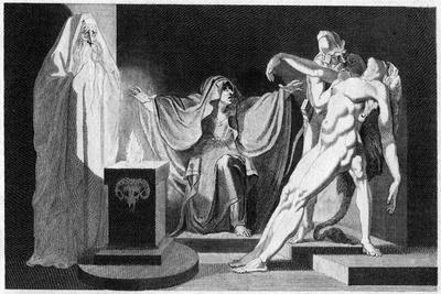 Saul and the Witch of Endor, 1792