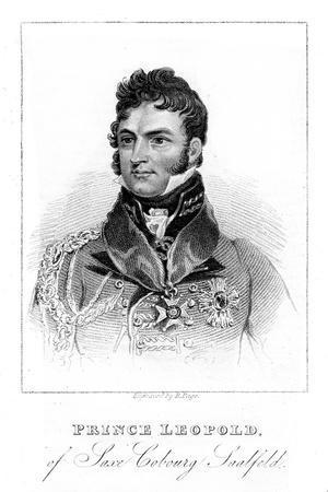 Prince Leopold of Saxe-Coburg-Saalfeld, 1823