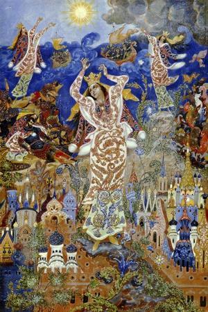 Yaroslavna's Lament, 1932-1933