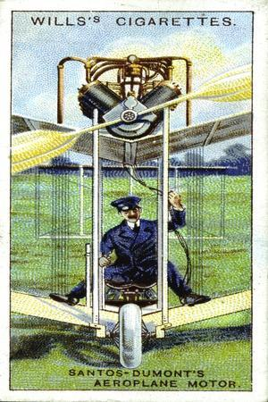 Alberto Santos-Dumont, Brazilian Aeronaut, First Recorded Flight in Europe, 1906