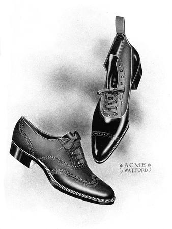 Boot and Shoe Illustrations, 1908-1909