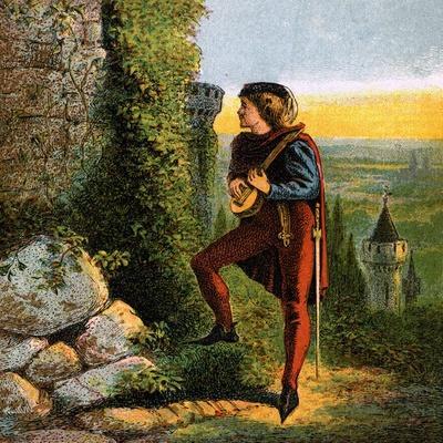 Blondel at Richard's Prison, 12th Century