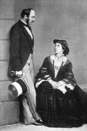 Queen Victoria and the Prince Consort, 1860