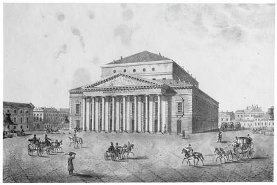 The Imperial Bolshoi Kamenny Theatre, St Petersburg, Russia, 1820S