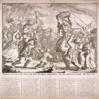 Dutch Satire on the South Sea Bubble, 1720
