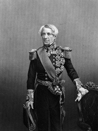 Edmund Lyons, 1st Baron Lyons, British Naval Commander, C1860