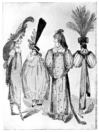 Waggoners Frocks or No Bodys of 1795, 1795