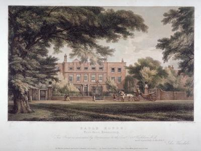 View of Eagle House, Brook Green, Hammersmith, London, C1810