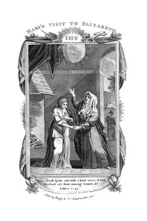 Mary's Visit to Elizabeth, C1808