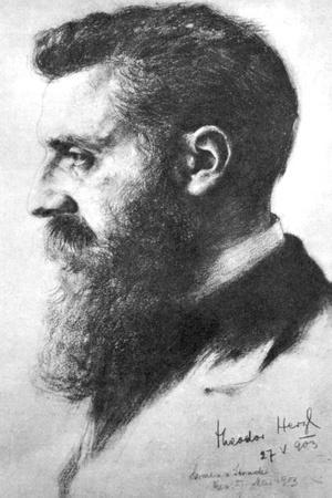 Theodor Herzl (1860-190), Zionist Leader, 1903