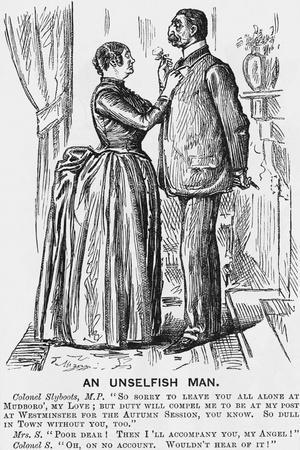 An Unselfish Man, 1888