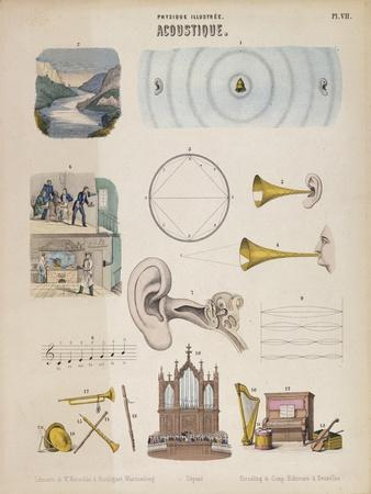 Various Musical Instruments and Sounds, Wurtemberg, C1850