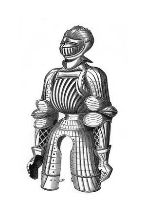 Convex Armour Said to Be That of Maximilian, 15th Century
