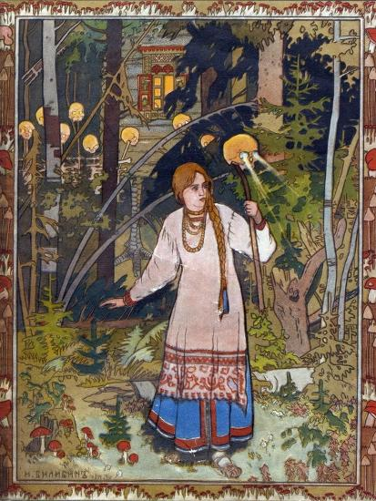 Vasilisa The Beautiful 1900 Giclee Print By Ivan