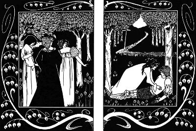 The Four Queens and Lancelot, 1893-1894