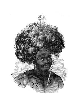 Native of the Papua Islands, 1848