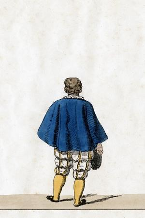 Theatre Costume Design for Shakespeare's Play, Henry VIII, 19th Century