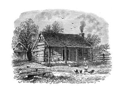 The Early Home of Abraham Lincoln, Gentryville, Indiana, 19th Century