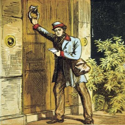 There Is the Postman's Knock!, 1867