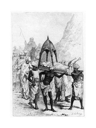 The Funeral of Sinbad's Wife, 19th Century