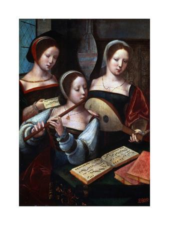 Musicians, 1530S-1540S