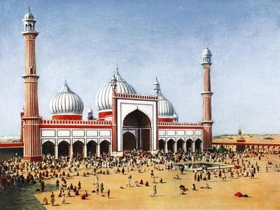 The Jumma Musjid, Delhi, India, Early 20th Century