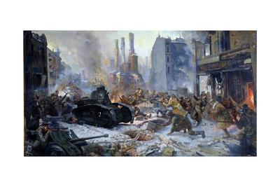 The Russian Army Capturing Vyborg on March 12th, 1940, 1941