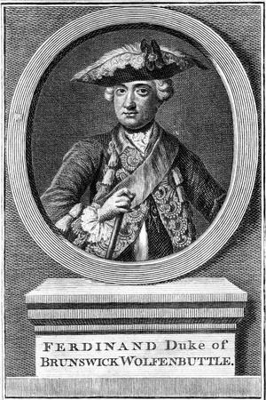 Ferdinand, Duke of Brunswick, 19th Century