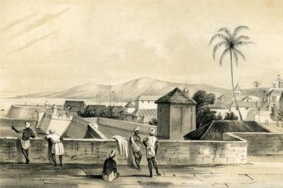 Goa, from the Upper Curtain, India, 1847