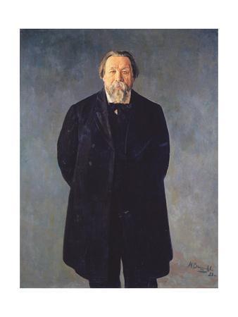 Portrait of the Composer Mikhail Ippolitov-Ivanov (1859-193), 1928
