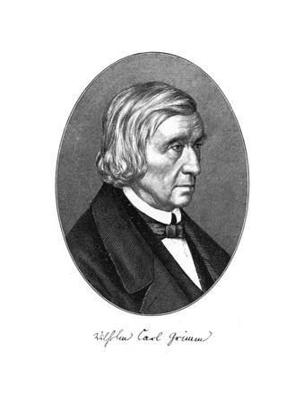 Wilhelm Carl Grimm, German Author, 1887