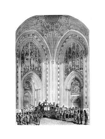 Grand Entrance, Westminster Palace, London, C1888