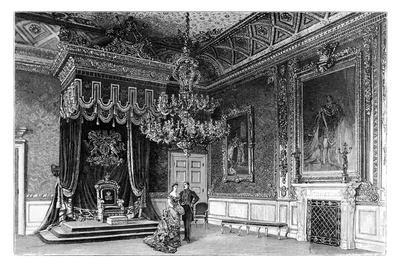 The Throne Room, St James's Palace, London, C1888